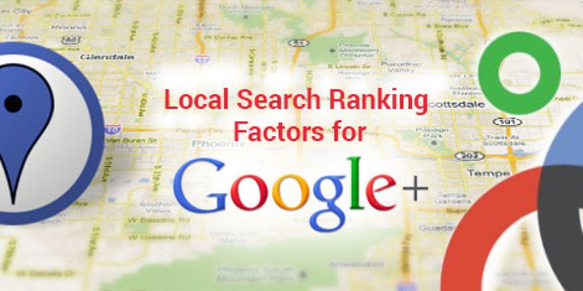متریک های رنک دهی گوگل برای جستجوی محلی یا Local Search توسط Google Plus